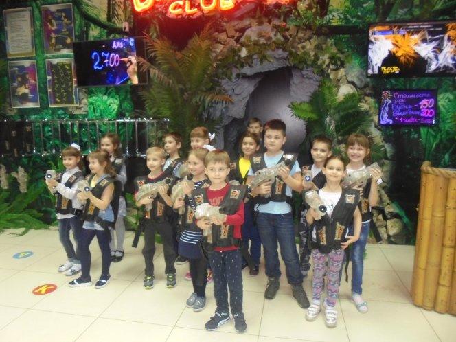 Фото с дней рождения детей в клубе Багира